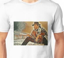 Clint Eastwood Western Painting Unisex T-Shirt