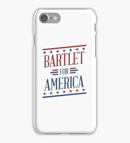 Bartlet for America - West Wing iPhone Case/Skin