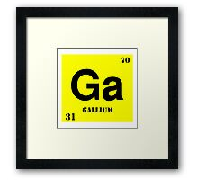 Gallium Framed Print