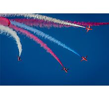 Red Arrows 1,2,3,  Photographic Print