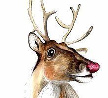 Rudolf the red nosed Reindeer by bridgetdav