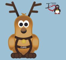 Christmas Penguin - Cupid Kids Tee