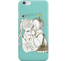 Secret iPhone Case/Skin