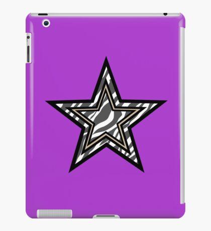 Zebra Star iPad Case/Skin