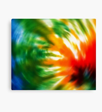 Tie Dyed Canvas Print
