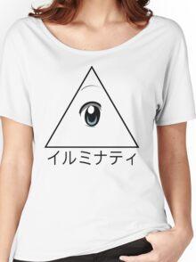 Anime illuminati art  Women's Relaxed Fit T-Shirt