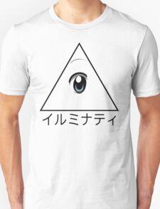 Anime illuminati art  T-Shirt