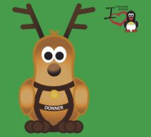 Christmas Penguin - Donner Kids Tee