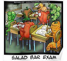 Salad Bar Exam  Poster