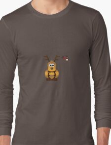 Christmas Penguin - Prancer Long Sleeve T-Shirt