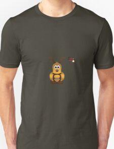 Christmas Penguin - Prancer Unisex T-Shirt