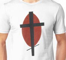 suprematism abstract art cross Unisex T-Shirt
