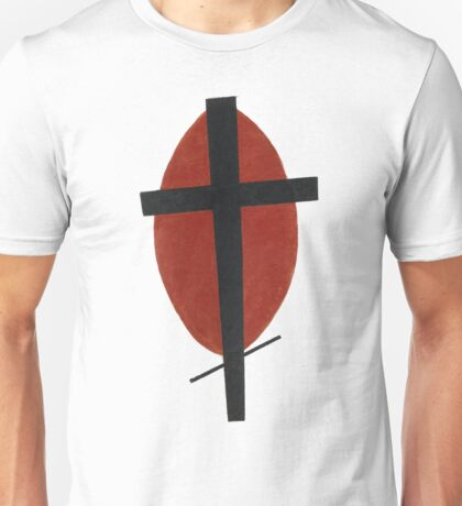 suprematism abstract art cross Unisex T-Shirt