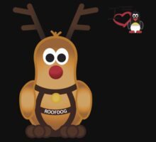 Christmas Penguin - Roofdog (Rudolph) Kids Clothes