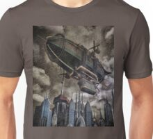 Steampunk Airship 2 Unisex T-Shirt