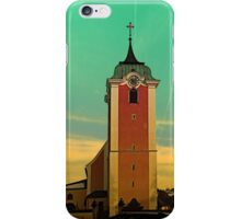 The village church of Neufelden V | architectural photography iPhone Case/Skin