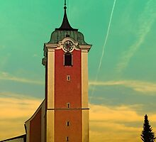 The village church of Neufelden V   architectural photography by Patrick Jobst