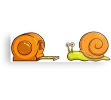 Snail Mate Metal Print