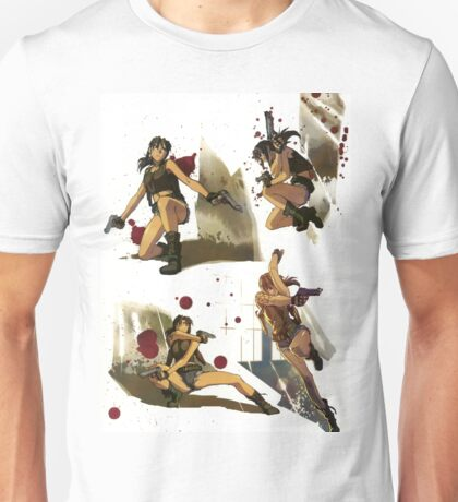 Black Lagoon Revy montage Unisex T-Shirt