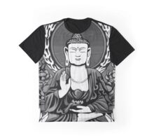 Gautama Budda Crop Graphic T-Shirt