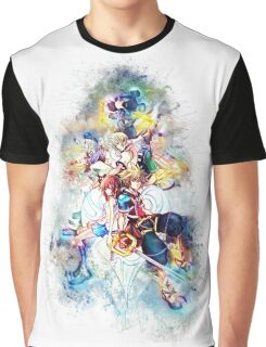 Kingdom Hearts Family Graphic T-Shirt