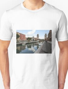 Cloud in the water. Unisex T-Shirt