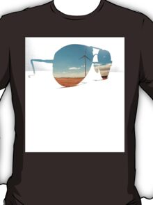 Windmill in the Sun. T-Shirt