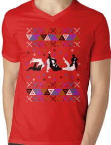 jiu jitsu christmas sweater Mens V-Neck T-Shirt