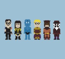 8-Bit Super Heroes 4: The Watch Guys by AlCreed