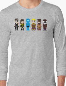 8-Bit Super Heroes 4: The Watch Guys Long Sleeve T-Shirt
