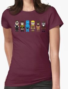 8-Bit Super Heroes 4: The Watch Guys Womens Fitted T-Shirt