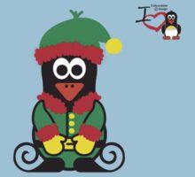 Christmas Penguin - Elf Kids Tee