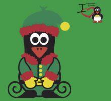 Christmas Penguin - Elf Kids Clothes