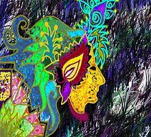 Digital Abstract art by Nandika-Dutt