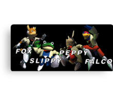 Starfox Team Canvas Print