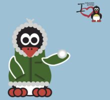 Christmas Penguin - Kid (Snowball) Kids Tee