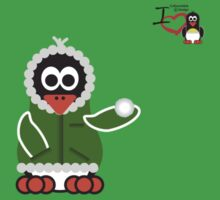 Christmas Penguin - Kid (Snowball) Kids Clothes