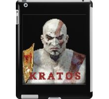 Kratos 8-Bit  iPad Case/Skin