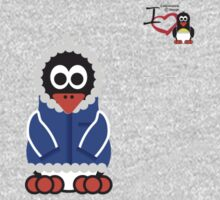 Christmas Penguin - Kid One Piece - Long Sleeve