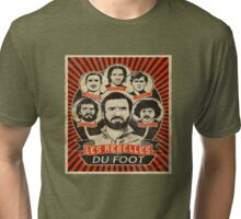 Legends of Football Soccer Cantona Drogba Tri-blend T-Shirt