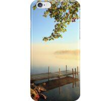 Early October Morning at Bird Lake iPhone Case/Skin