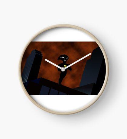 Freakazoid Gotham Skyline Sillhouette Clock