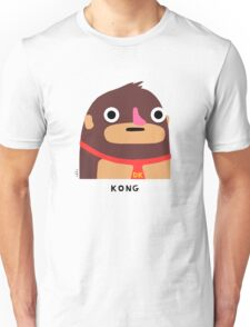 Kong (black text) Unisex T-Shirt