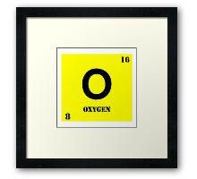 Oxygen Framed Print