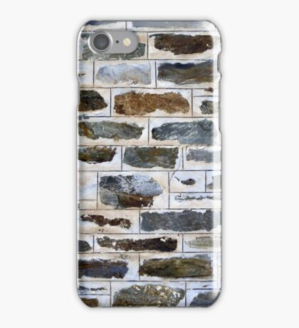 Decorative Stone Wall iPhone Case/Skin
