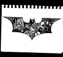 Batman Begins - Dark Knight - Dark Knight Rises by RockandRoll Maker