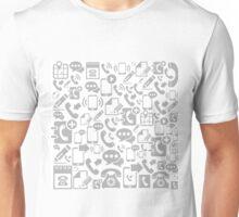 Phone a background2 Unisex T-Shirt
