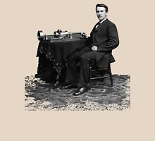Edison and his invention the phonograph in 1878 Unisex T-Shirt