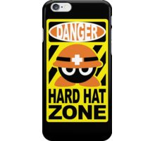 Safety First, Worker Mets! iPhone Case/Skin