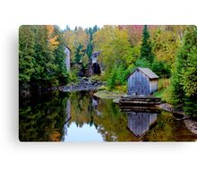 The Sawmill & Gristmill Canvas Print